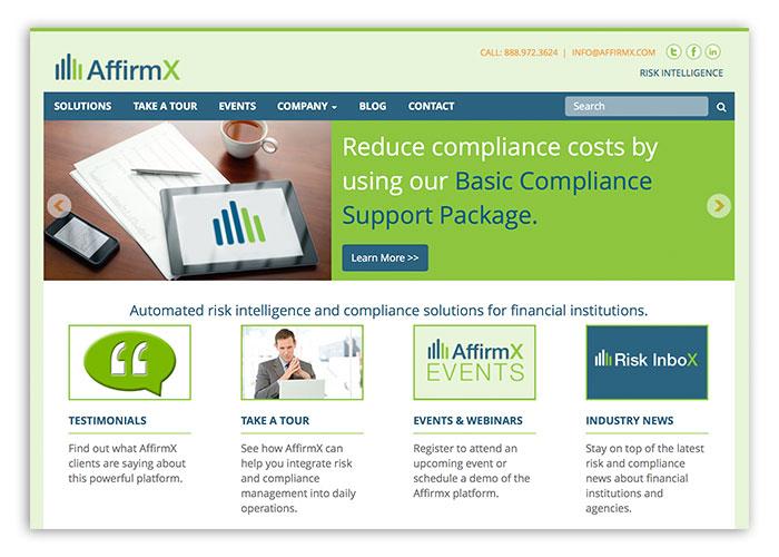AffirmX Website