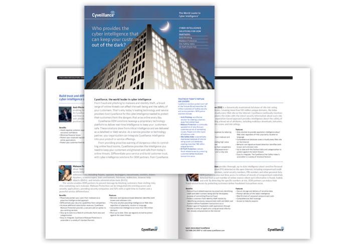 Cyveillance Brochure