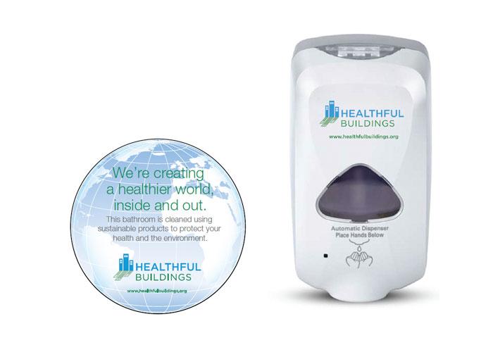 Healthful Decal & Dispensor