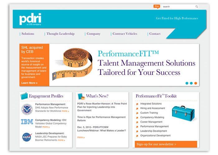 PDRI Website