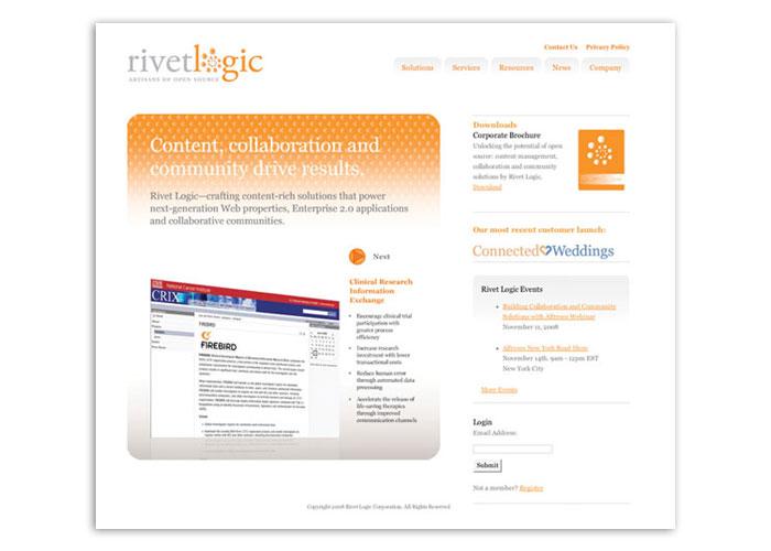 Rivet Logic Website