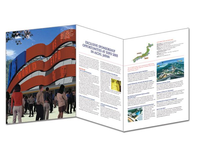 U.S. Pavilion, World Expo 2005 - brochure